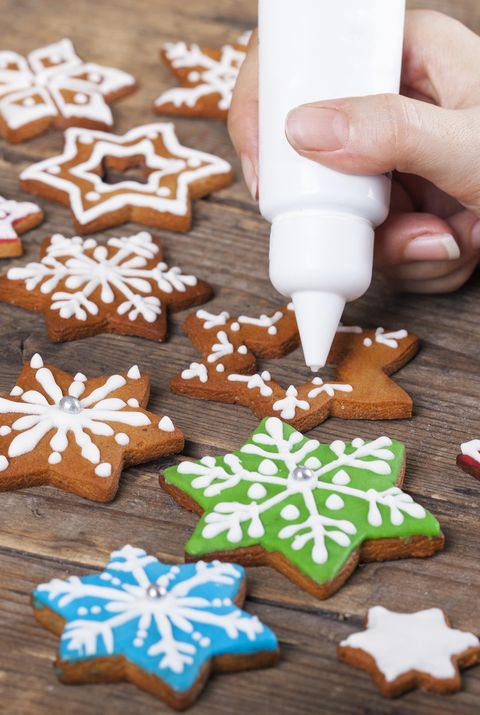 christmas themes cookie decorating