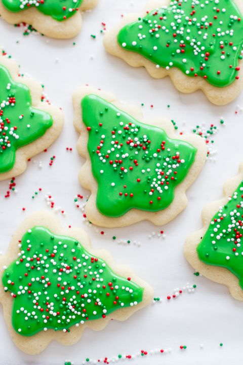 christmas treats cookie trees - Easy Christmas Cookies For Kids