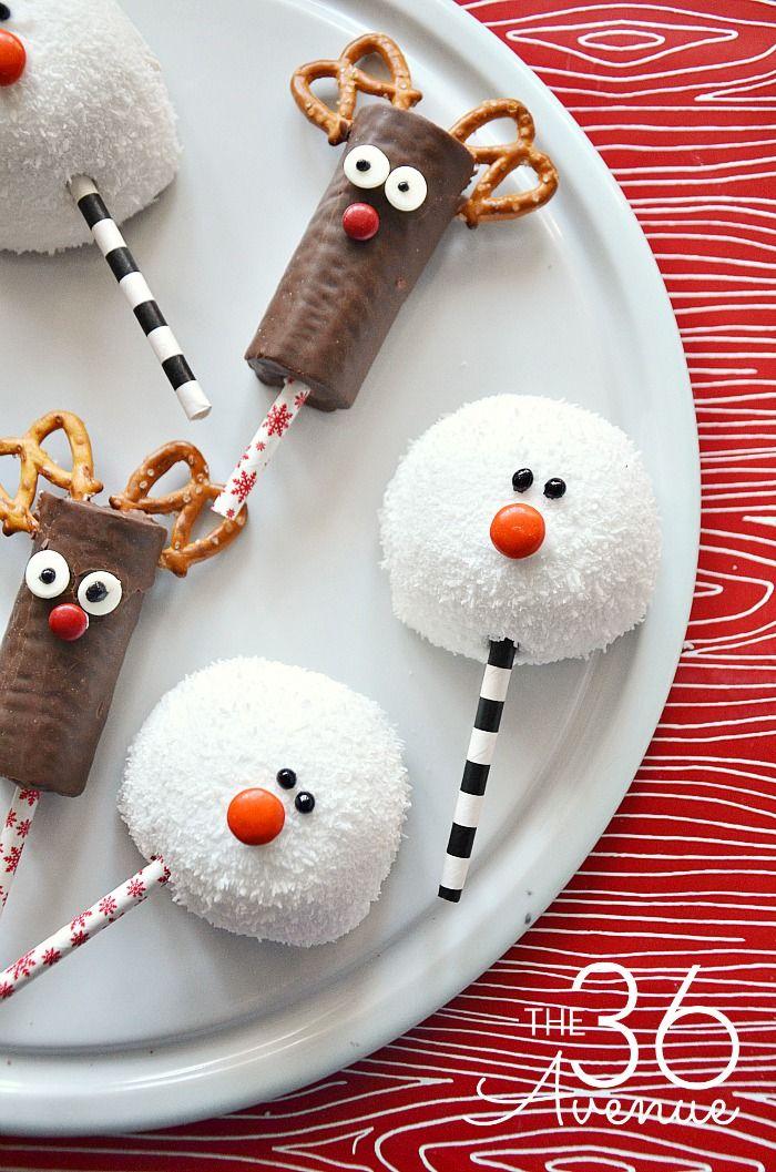 40+ Easy Christmas Treats Ideas - Recipes for Holiday Treats to Make