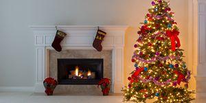 Christmas tree Instagram photo
