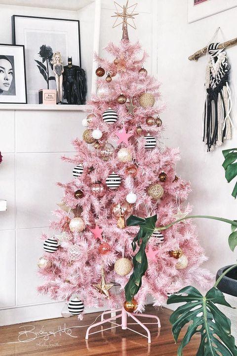 meilleures idées de décoration de sapin de Noël-tendance
