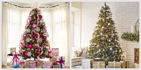 Christmas Tree Decorating Ideas 2020 Natural 60+ Stunning Christmas Tree Ideas   Best Christmas Tree Decorations