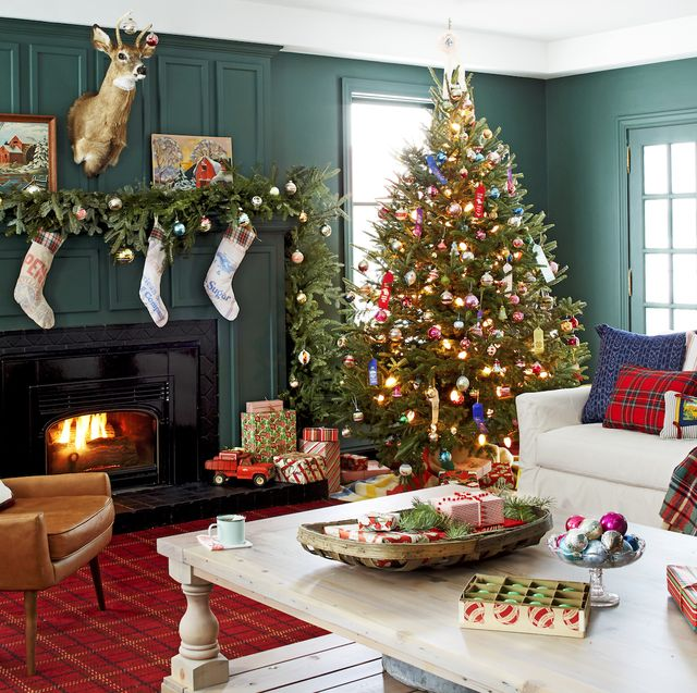 Christmas Tree Decorating Ideas 2020 50+ Unique Christmas Tree Decorations   2020 Ideas for Decorating