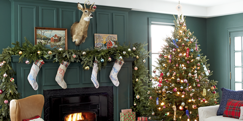 christmas tree decorating ideas - Christmas Decor Without A Tree