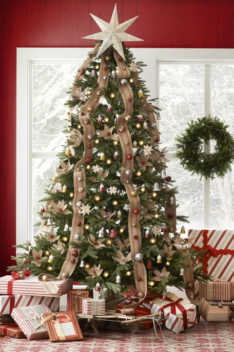 How To Decorate A Christmas Tree Professionally With Ribbon.42 Unique Christmas Tree Decorations 2019 Ideas For