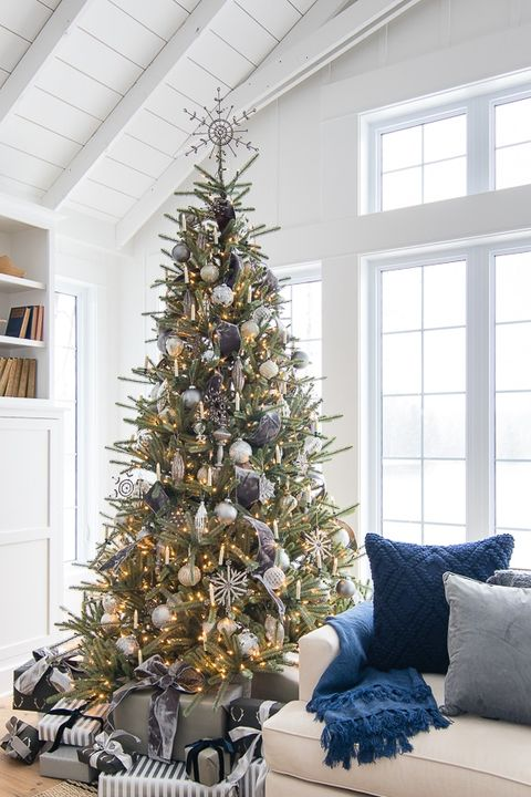 Christmas Branch Decoration Ideas.42 Unique Christmas Tree Decorations 2019 Ideas For