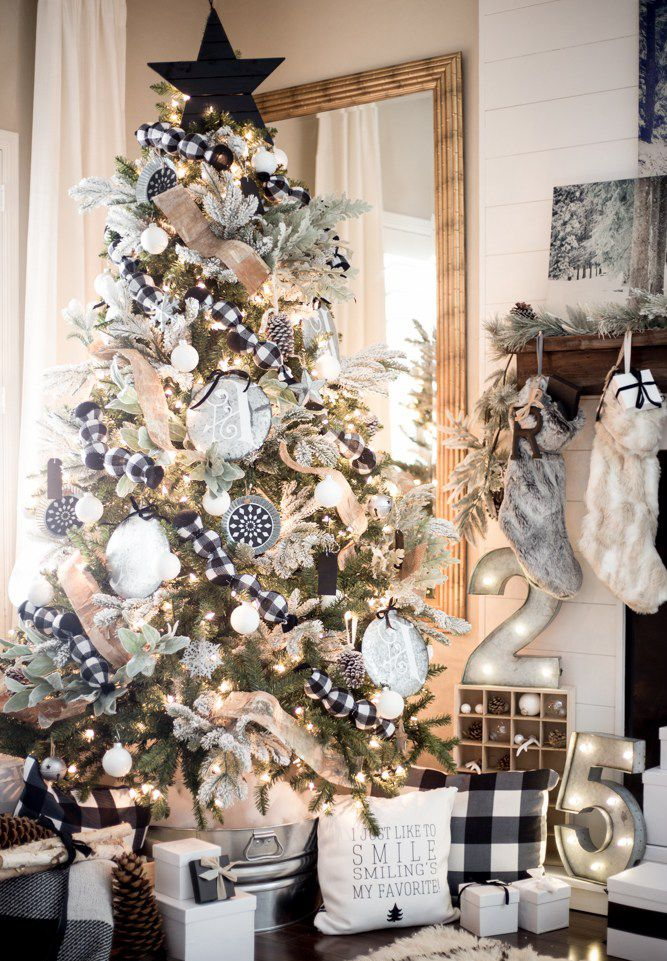 30 Beautiful Christmas Tree Decoration Ideas 2017 ...