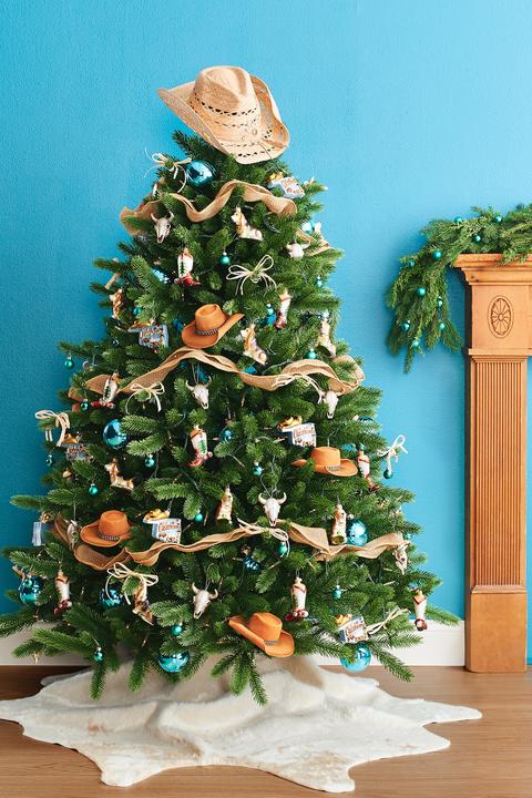 christmas tree decorations cowboy