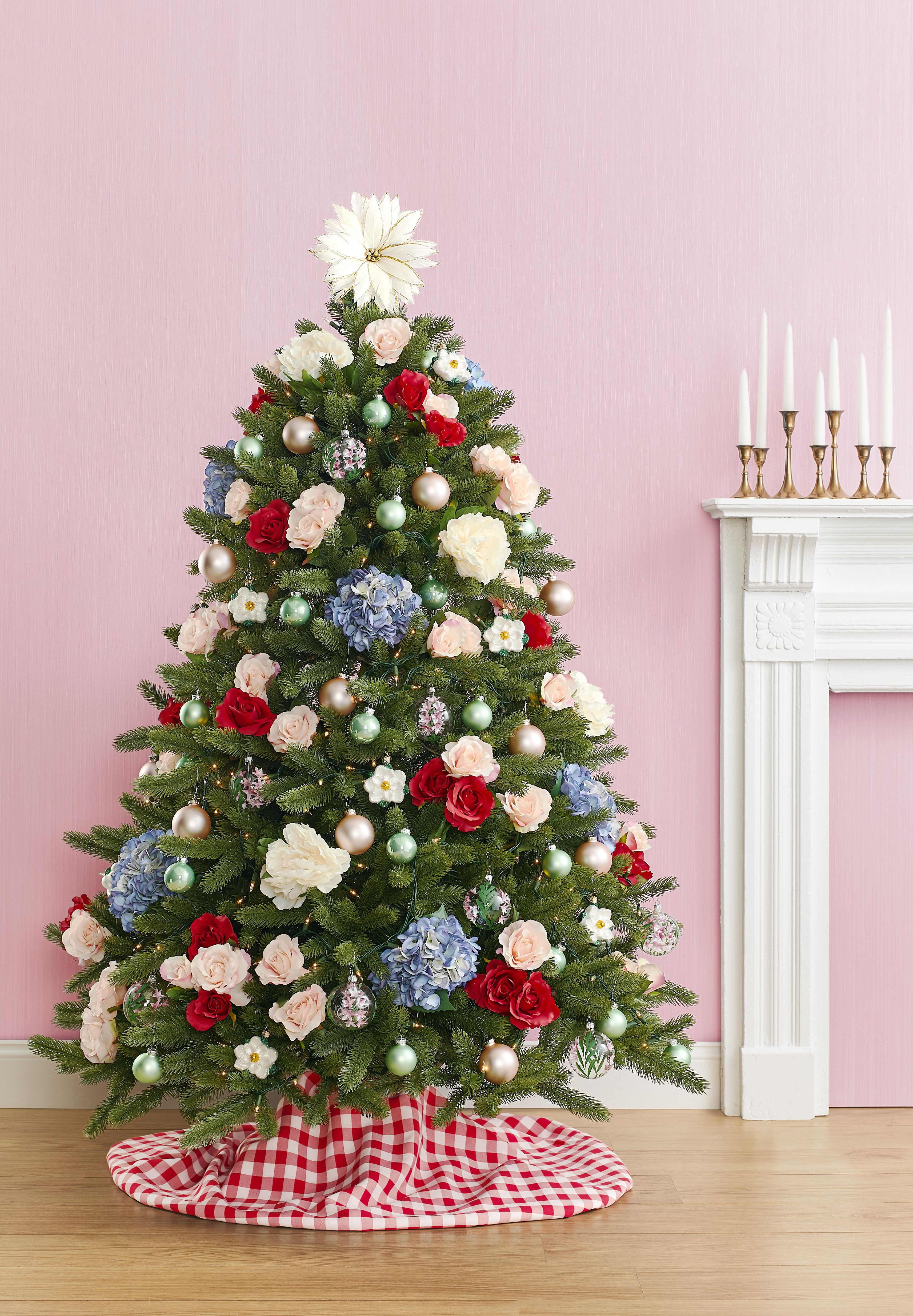 Pink Glass Tree Top Tree Topper Tree trim Tip on the Christmas tree Christmas Ornament Mercury Glass Christmas decorations Xmas Gift idea