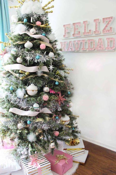 christmas tree decorations mid century modern christmas tree