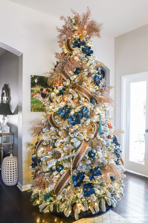 White Christmas Tree Design.86 Best Christmas Tree Decorating Ideas How To Decorate A