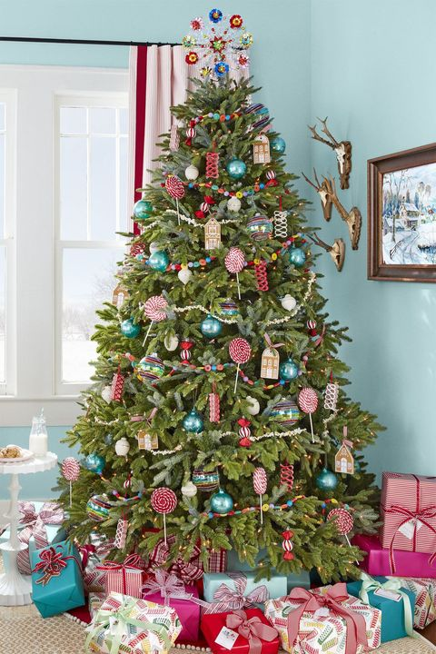 How To Decorate A Christmas Tree Professionally With Ribbon.50 Decorated Christmas Tree Ideas Pictures Of Christmas