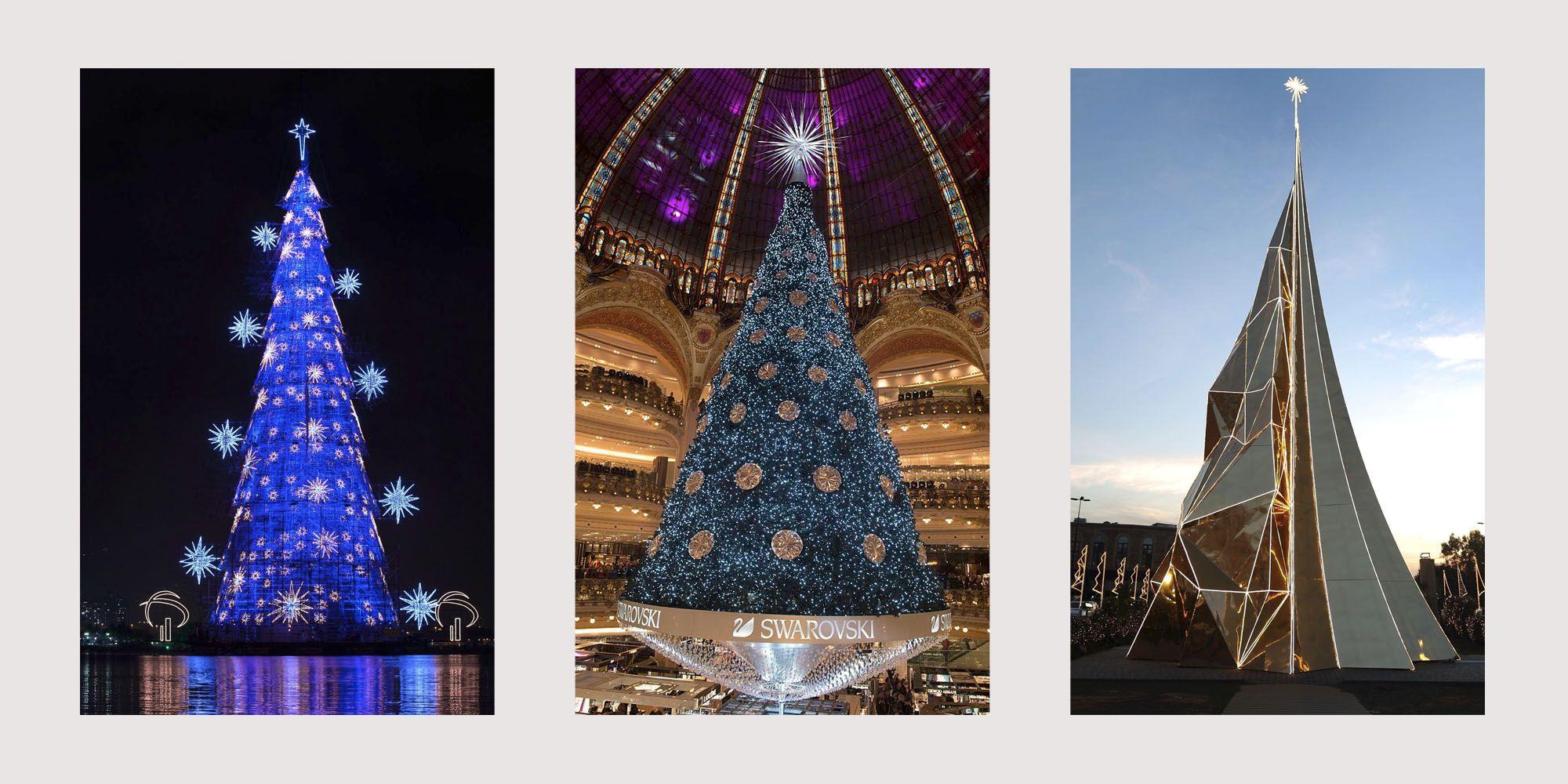 Purple Christmas Tree Lights.40 Best Christmas Trees Ever White House Rockefeller