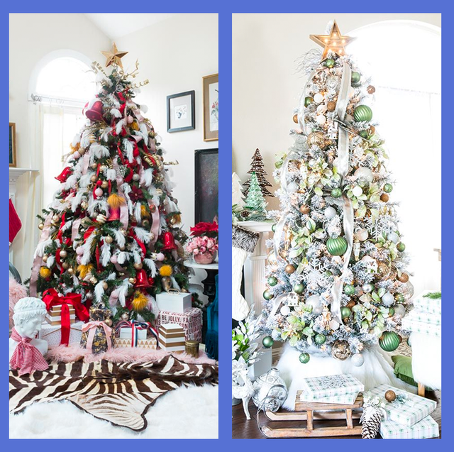 Christmas Tree Decorations Ideas.35 Stunning Christmas Tree Decorating Ideas And Photos 2019