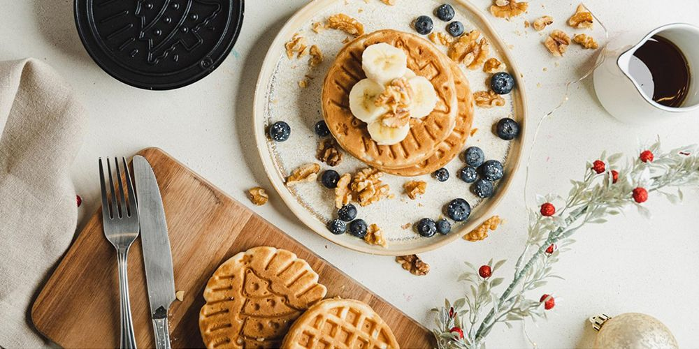 This Christmas Tree Waffle Maker Will Have You Waking Up For More Than Just Gifts