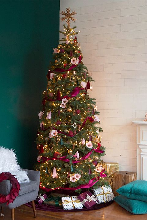 Christmas Tree Pictures.56 Christmas Tree Decoration Ideas Pictures Of Beautiful