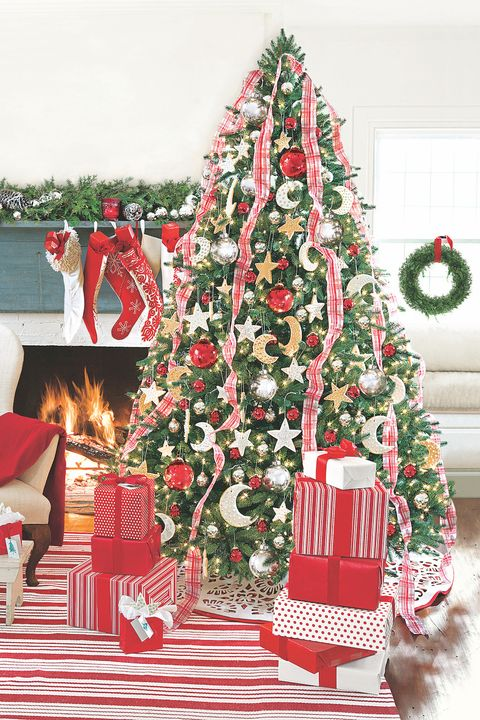 outlet store ccbac 6d09c Best Christmas Tree Ribbon Ideas - Ways to Add Ribbon to ...