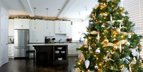 Fine 20 Christmas Kitchen Decor Ideas How To Decorate Your Home Interior And Landscaping Ferensignezvosmurscom