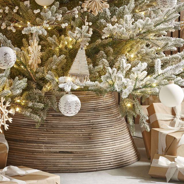 best christmas tree skirts   23 tree skirts, wicker tree skirt