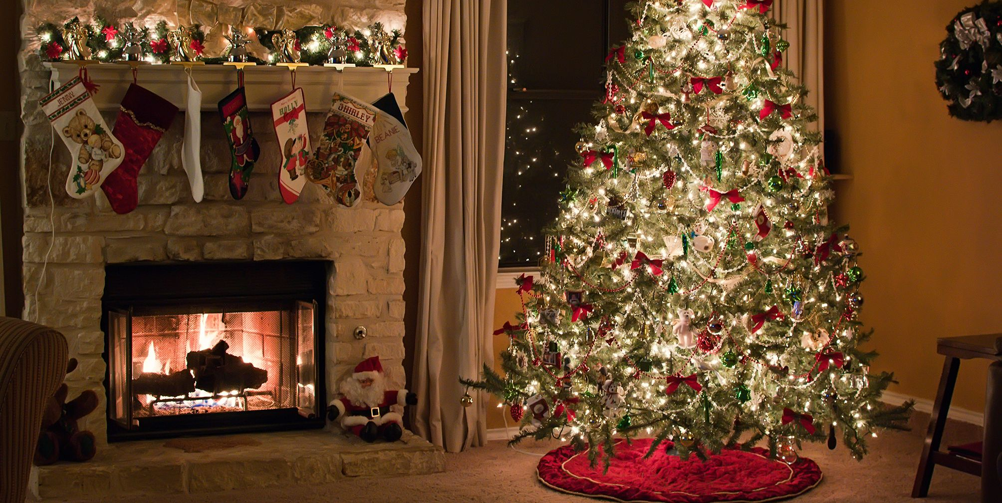 Snowflake Christmas Tree Skirt