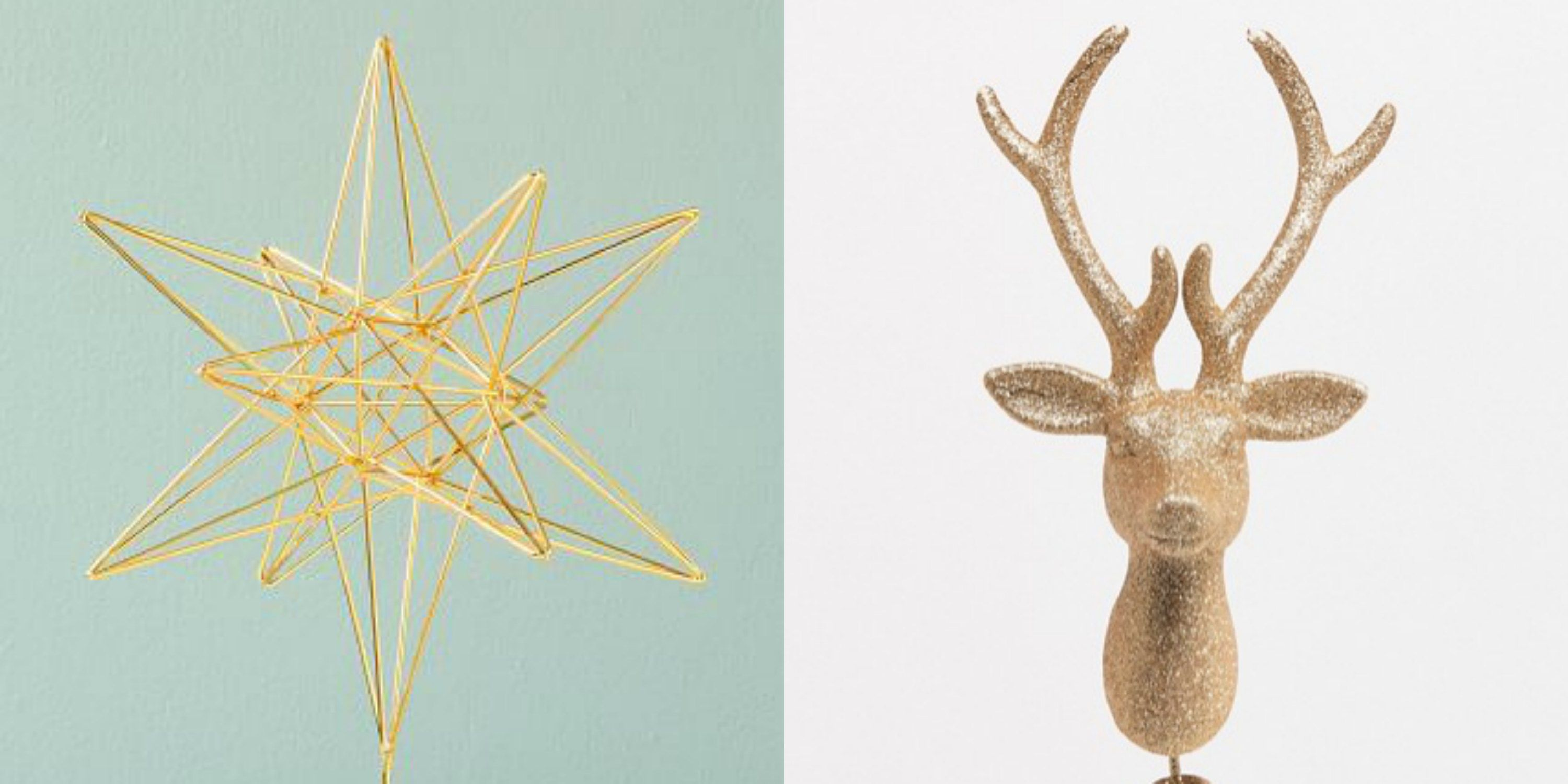 20 Best Christmas Tree Toppers - Cute Christmas Tree Decorations