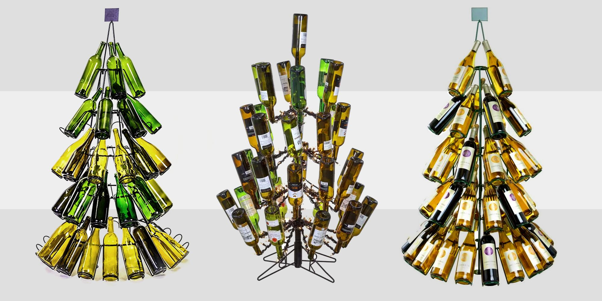 Wine Bottle Christmas Trees How To Decorate Your Tree With Wine Bottles