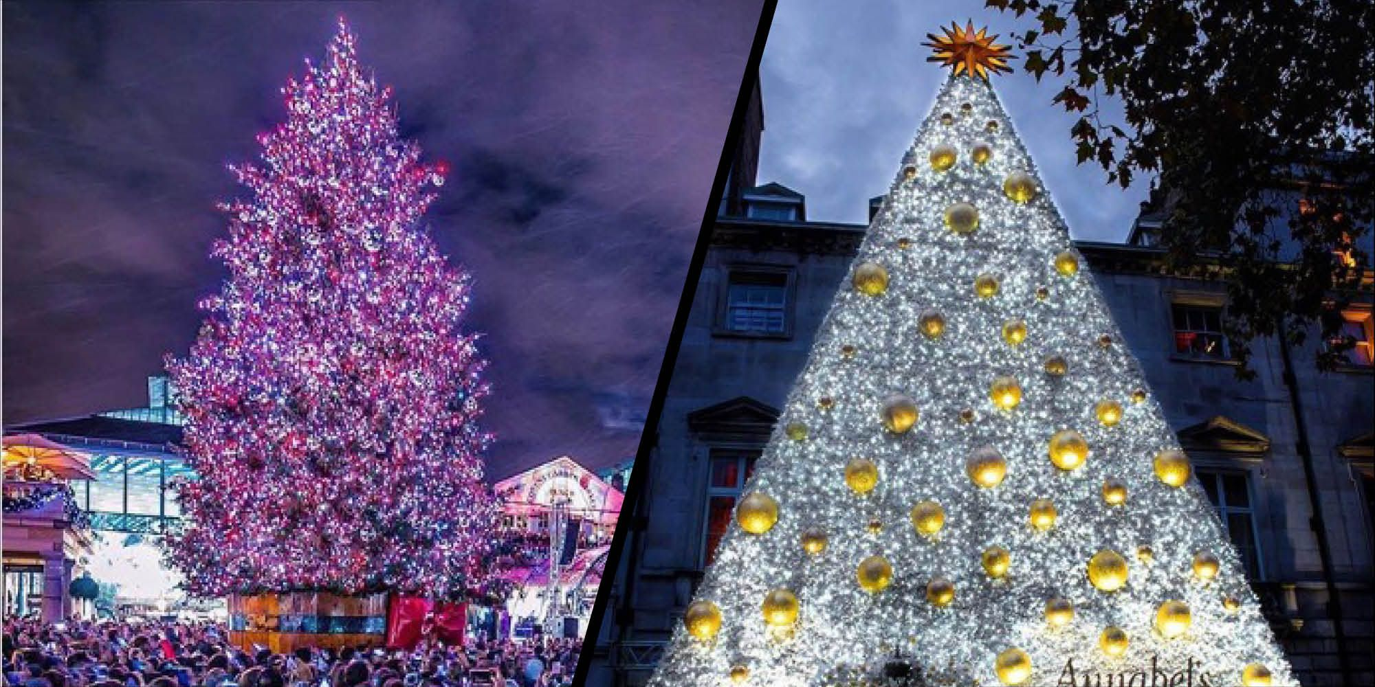 The most stylish Christmas trees