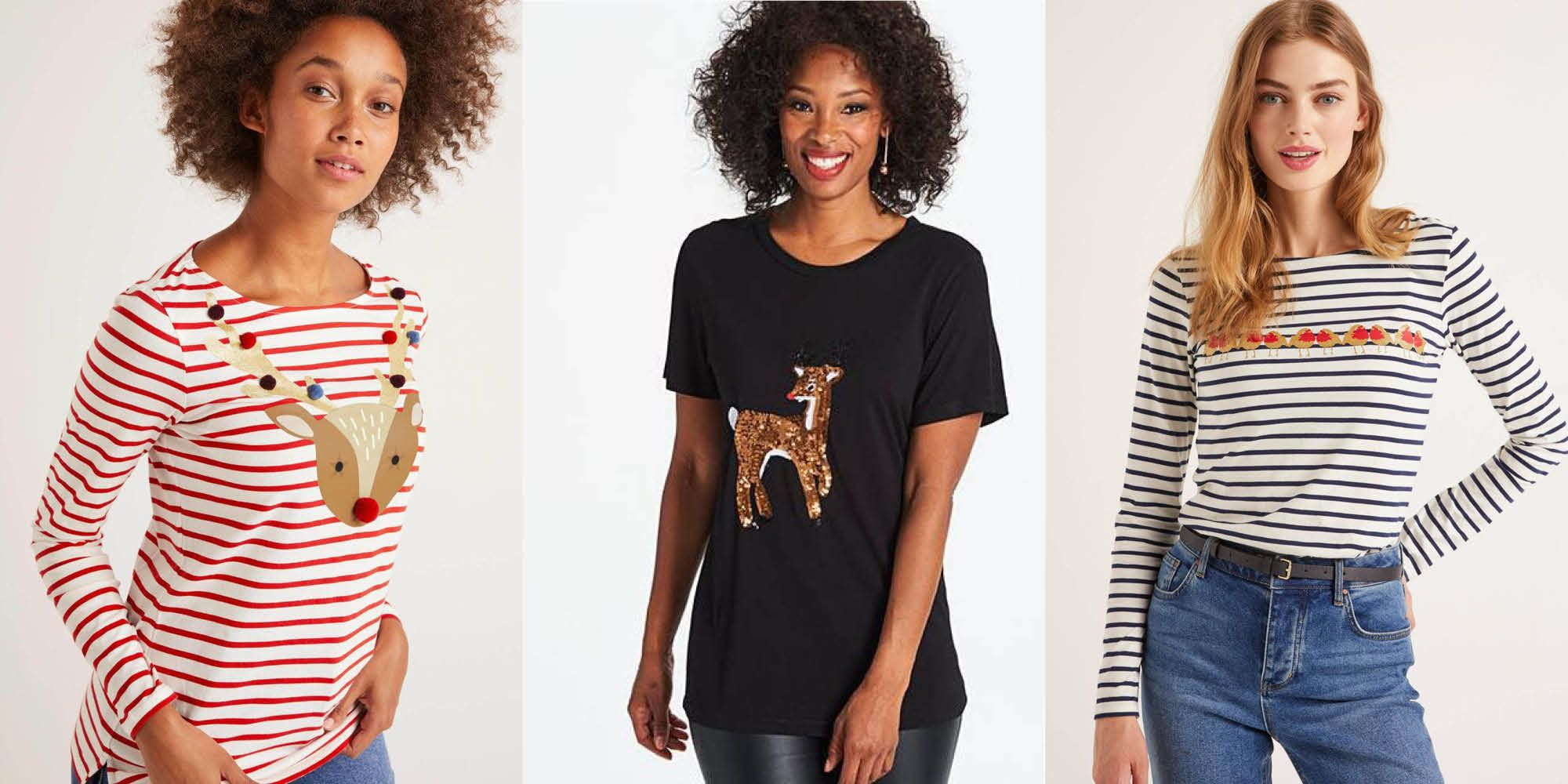 The most stylish Christmas t-shirts you can buy this year