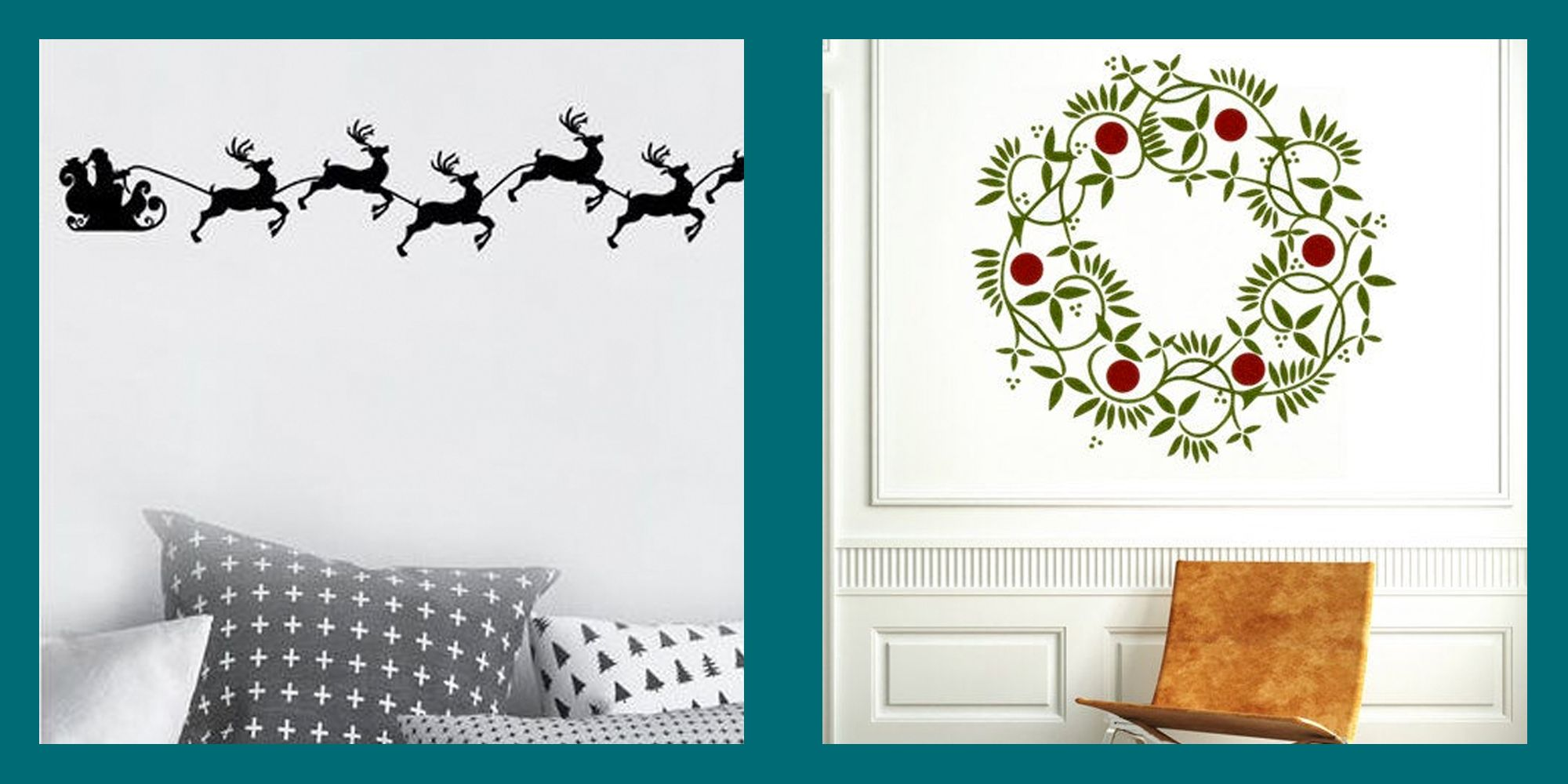 17 Christmas Wall Decals For Your Most Hassle-Free Holiday