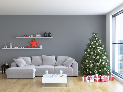 9 Christmas Wall Decorating Ideas - Elegant Holiday Wall Decoration