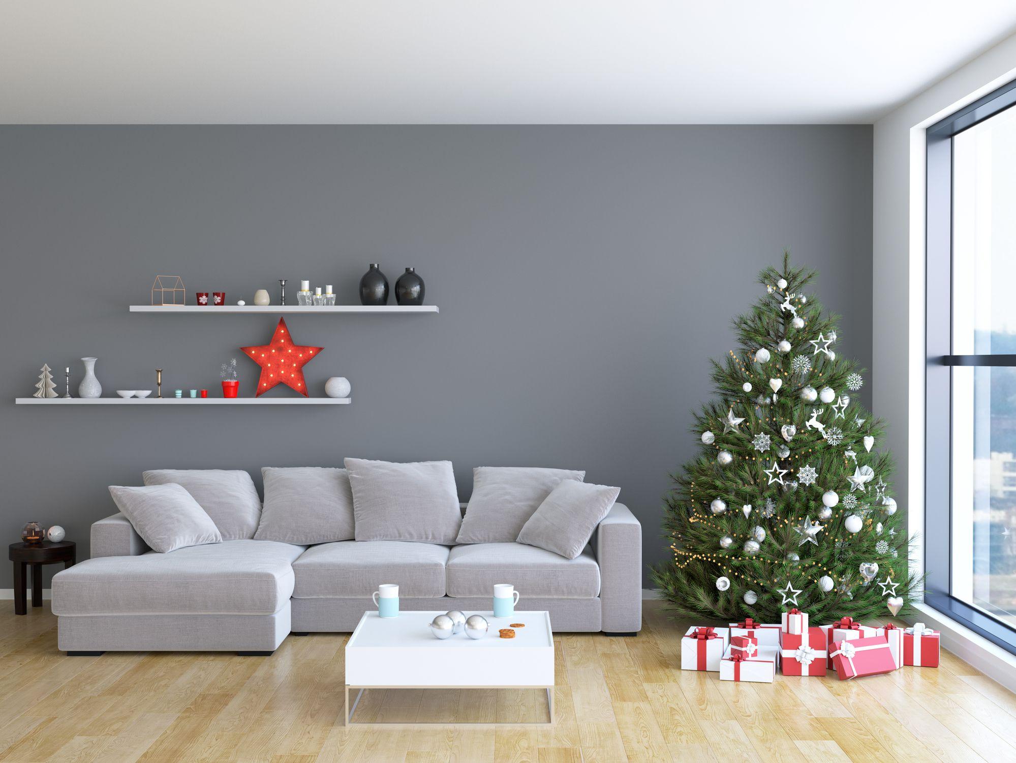 Christmas Livingroom Interior