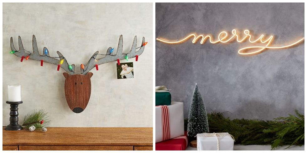 18 Christmas Wall Decorating Ideas Holiday Wall Hangings Art