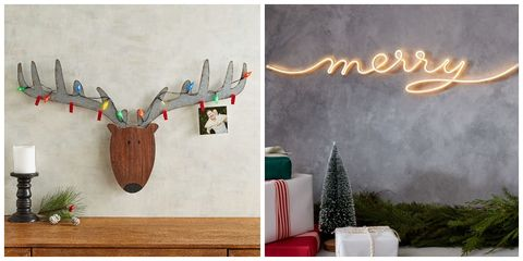 christmas wall decorating ideas - Christmas Wall Decor