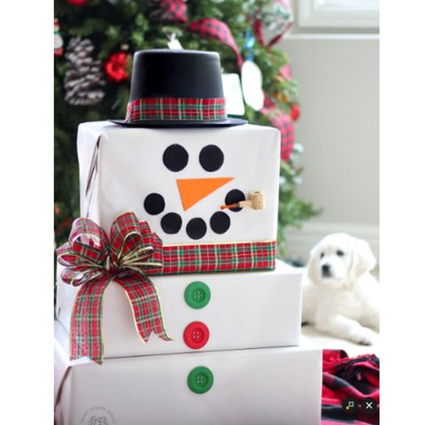 christmas-wrapping-ideas-snowman