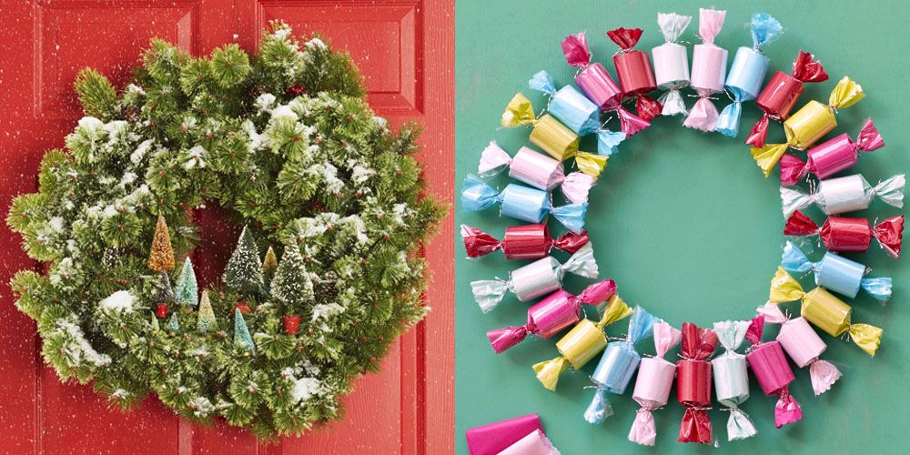 60 DIY Christmas Wreaths , How to Make a Holiday Wreath Craft