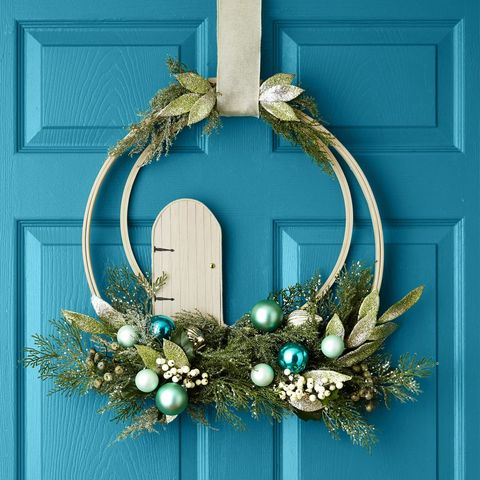 Rustic Christmas Wreaths To Make.60 Diy Christmas Wreaths How To Make A Holiday Wreath Craft