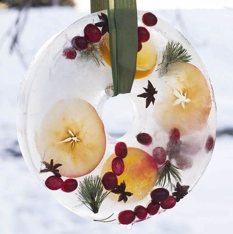 Non Christmas Winter Wreaths.60 Diy Christmas Wreaths How To Make A Holiday Wreath Craft