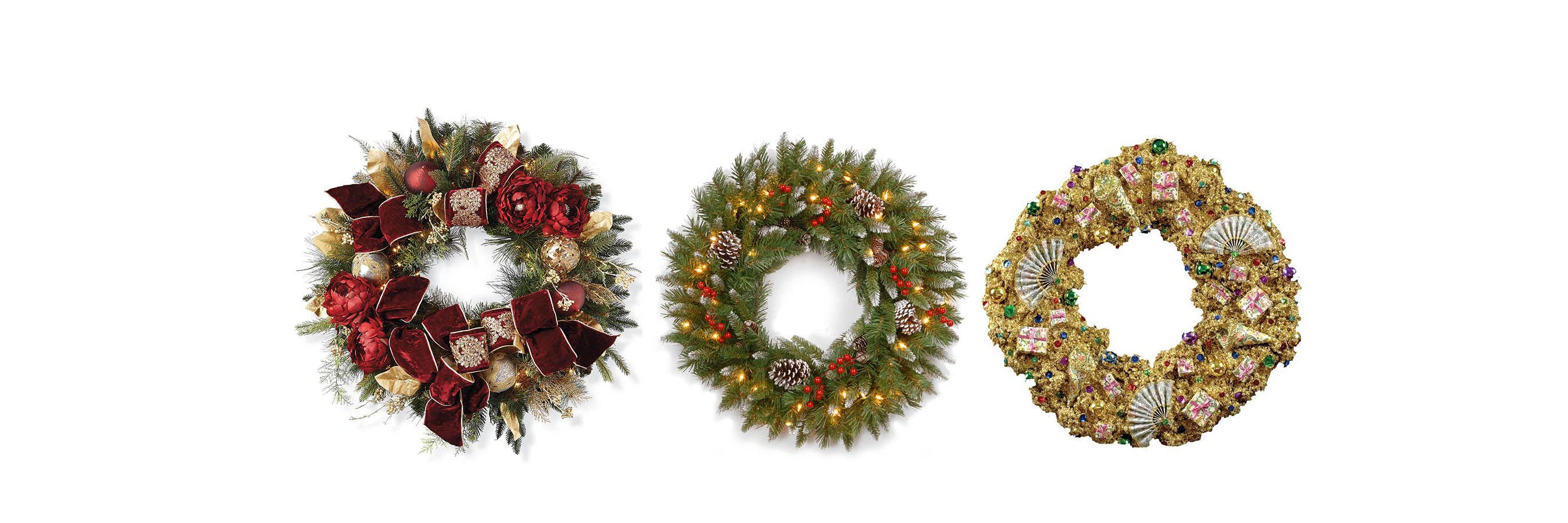 60 Best Christmas Door Wreath Ideas 2017 - Decorating with Christmas ...