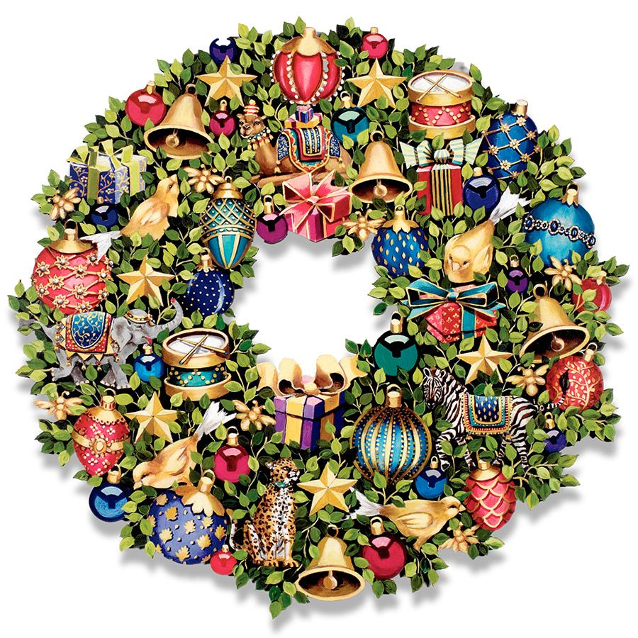60 Best Christmas Door Wreath Ideas 2017   Decorating With Christmas Wreaths