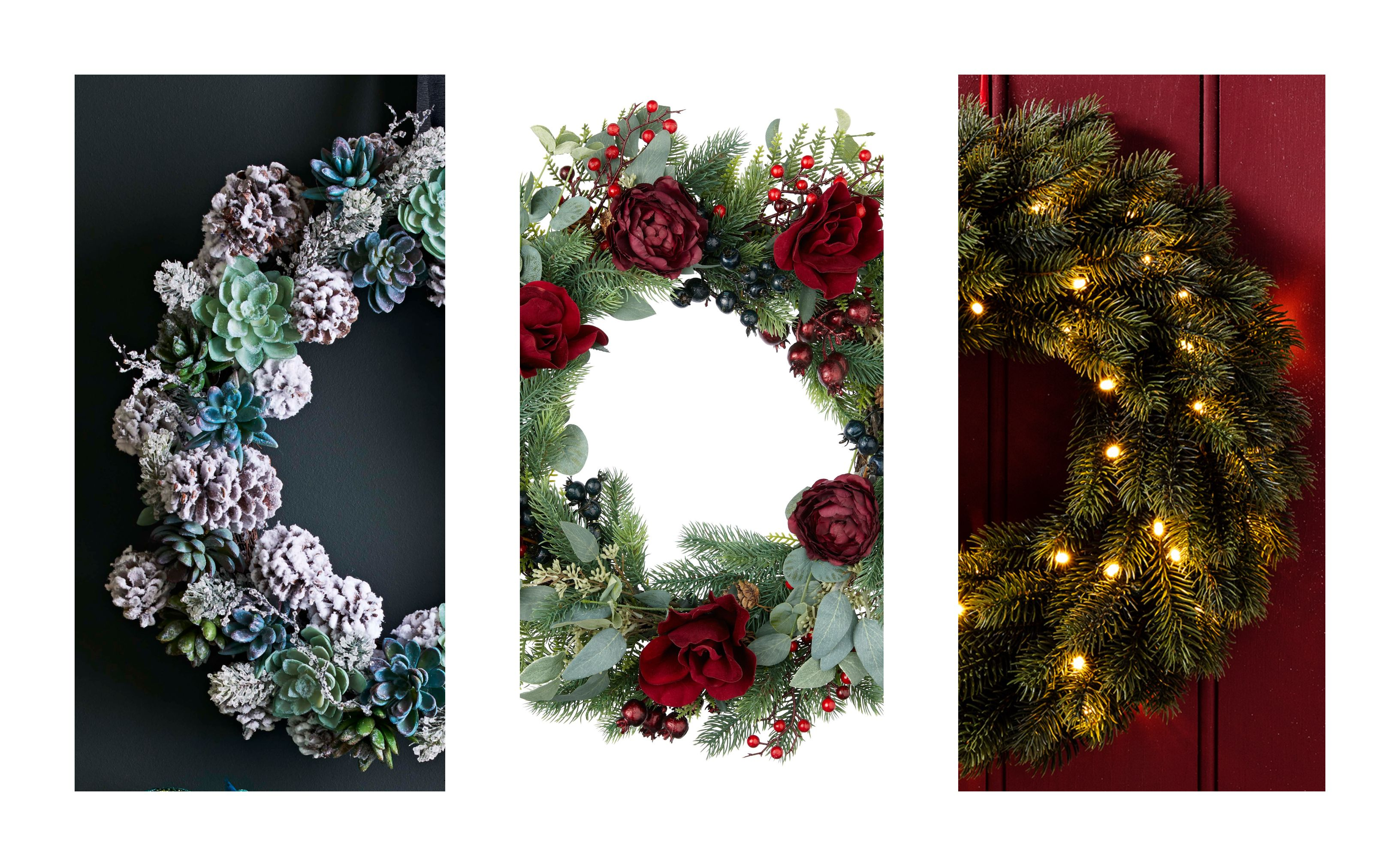 Best Christmas Wreaths Christmas Door Wreaths