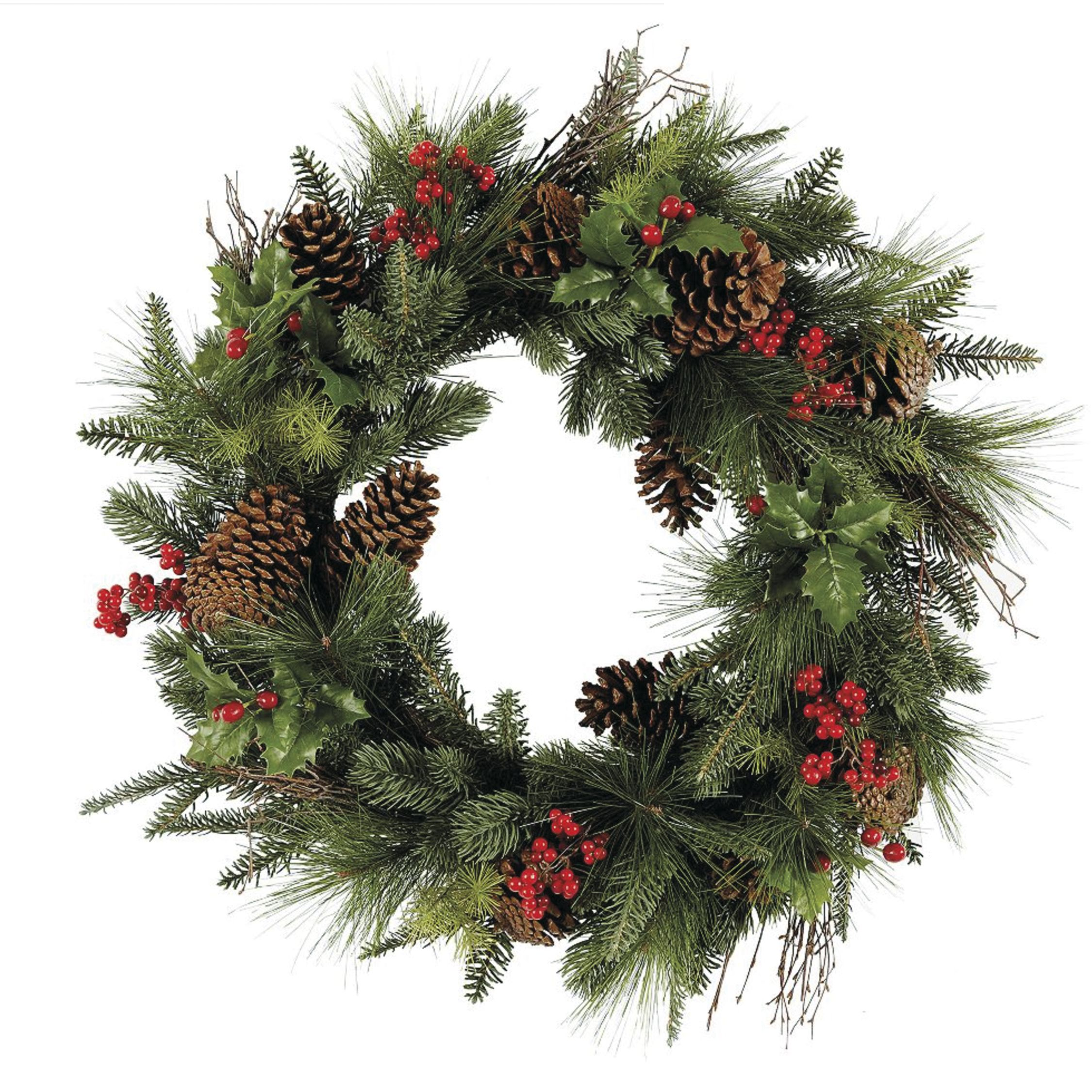 35+ Gorgeous Christmas Wreaths for a Festive Front Door
