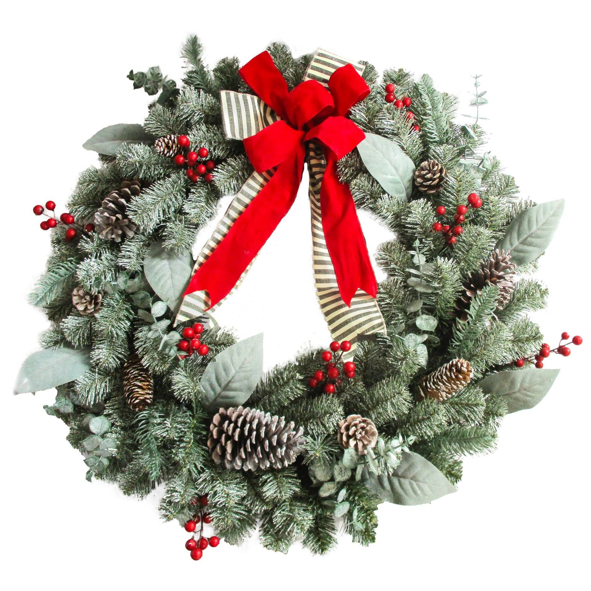 60 Best Christmas Door Wreath Ideas 2017 - Decorating with Christmas Wreaths