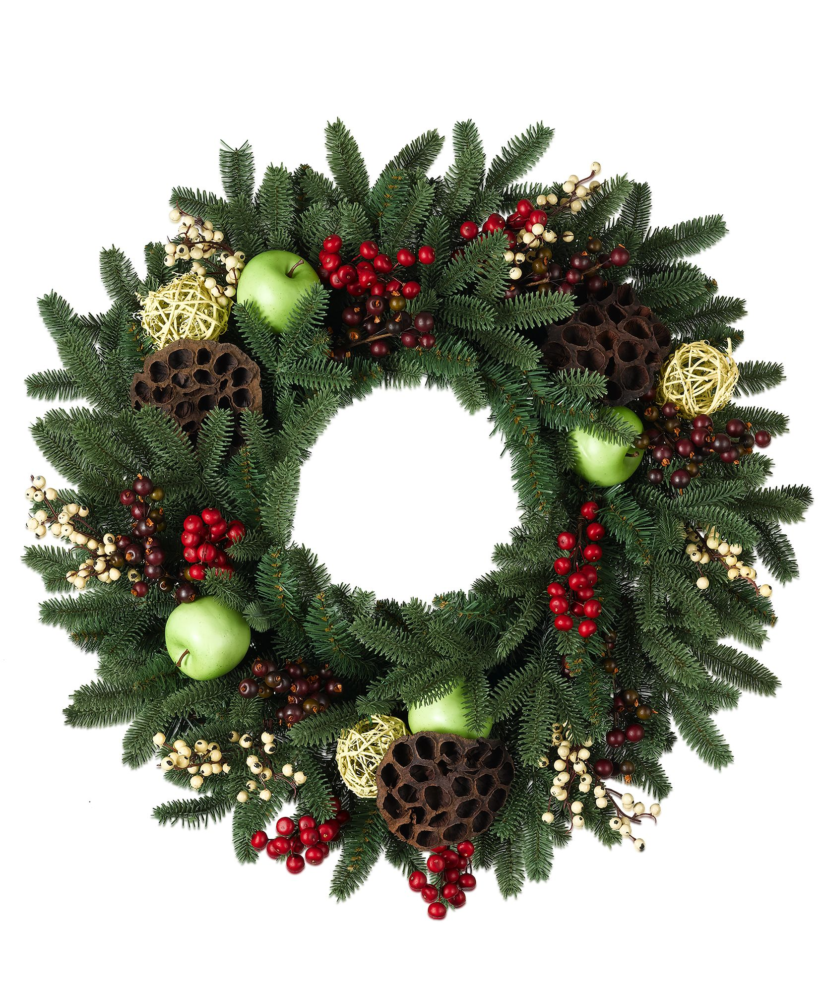 55 Best Christmas Door Wreath Ideas 2017 - Decorating with ...