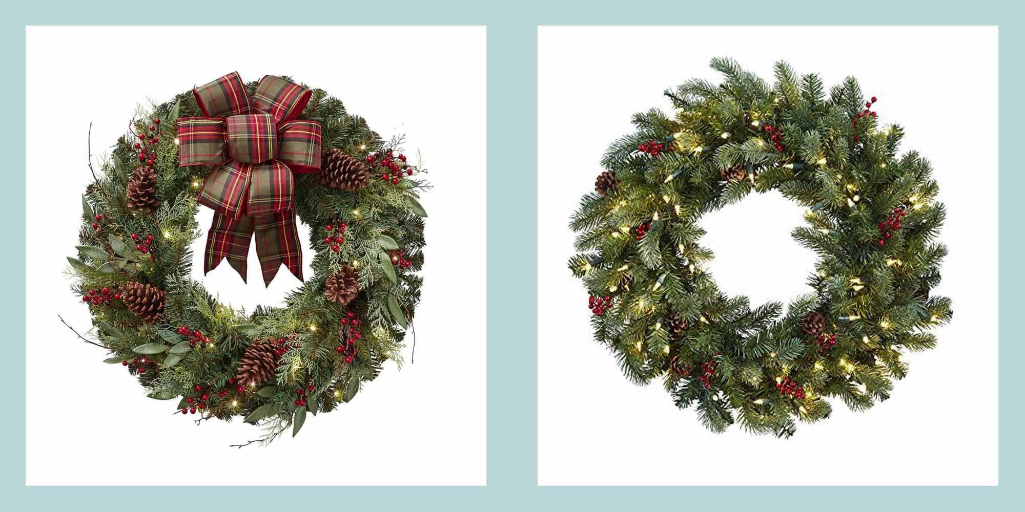 35 Best Christmas Wreaths Stylish Christmas Wreath Ideas