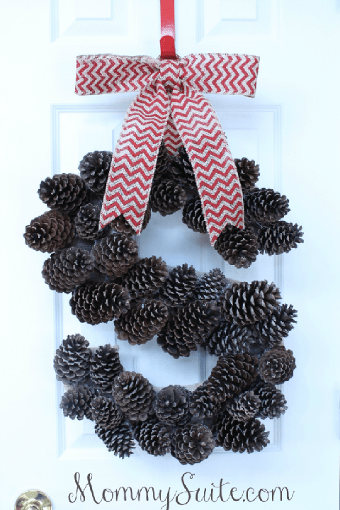 christmas wreaths monogram