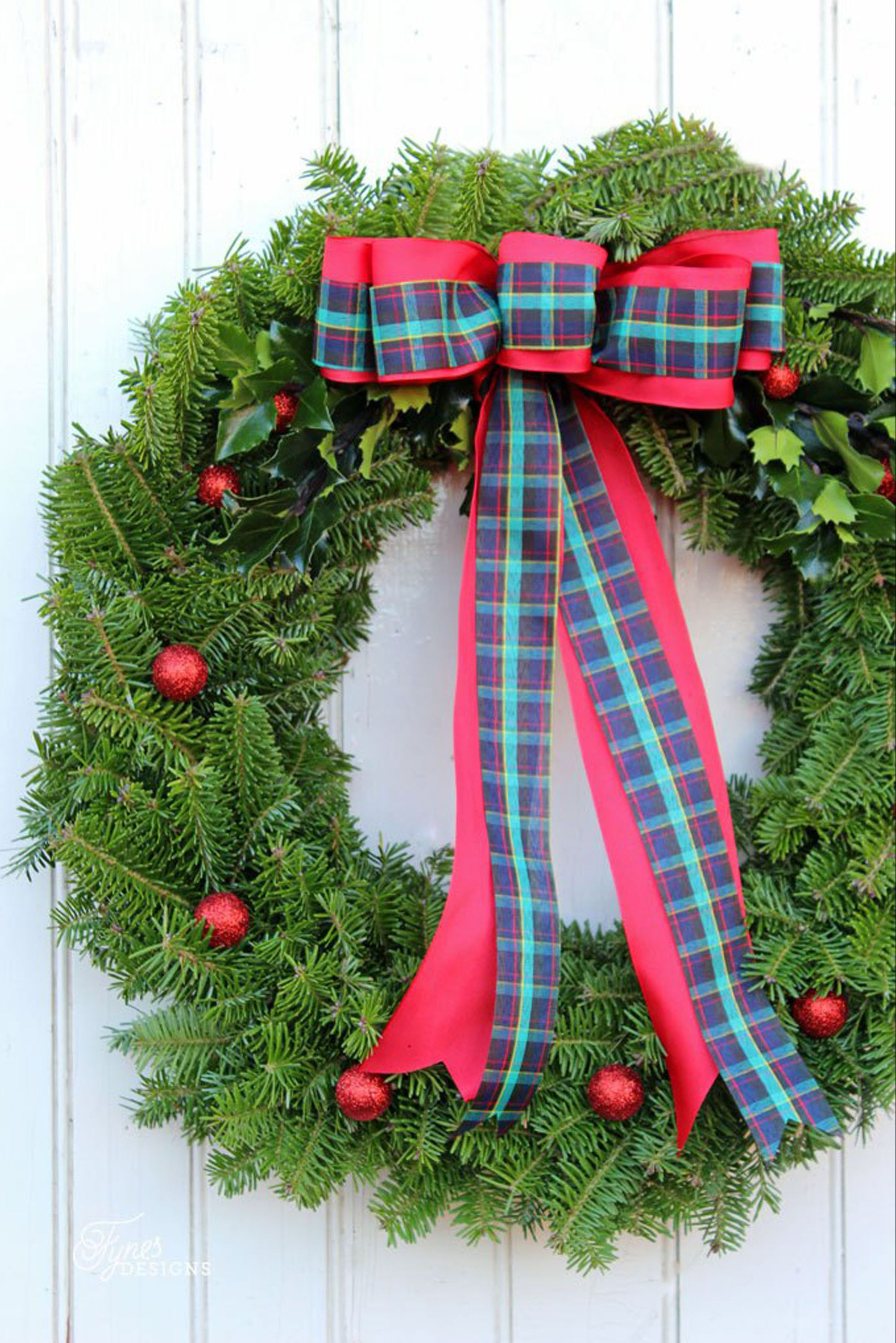 christmas wreaths natural