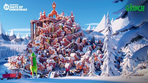 the grinch zoom background