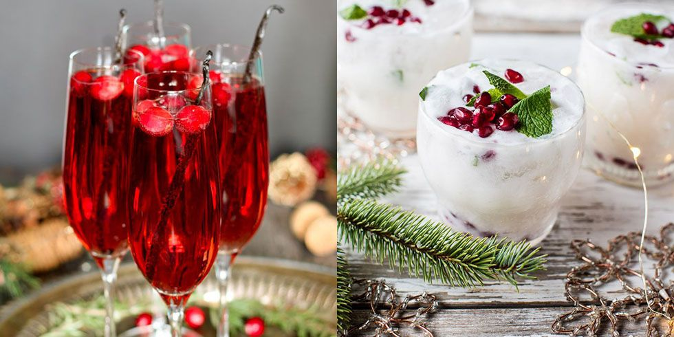 46 Best Christmas Cocktail Recipes Easy Alcoholic