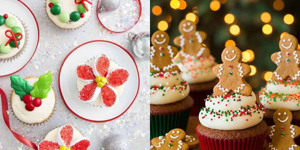 25 Cute Christmas Cupcake Ideas - Easy Recipes and Decorating Tips for Holiday Cupcakes