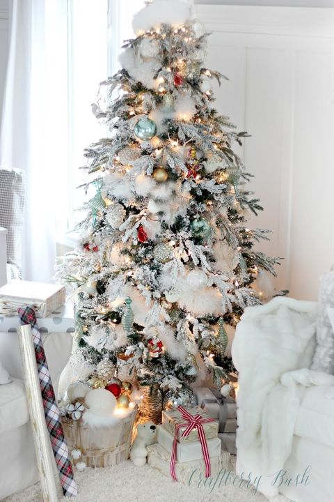 Christmas Tree Decorating Ideas.33 Unique Christmas Tree Decoration Ideas Pictures Of